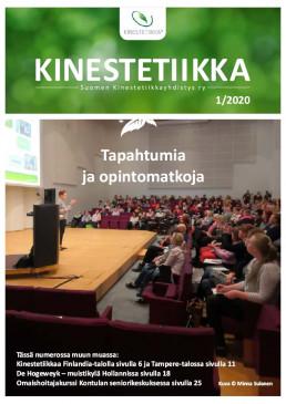 Kinestetiikka-lehden 1/2020 etusivun kuva