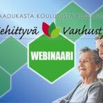 Kehittyvä vanhustyön webinaari -banner