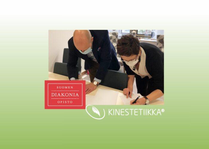 Suomen Kinestetiikkayhdistys ja Suomen Diakoniaopisto SDO yhteistyöhön
