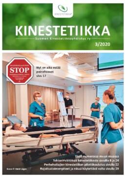Kinestetiikka-lehden 3/2020 kansikuva