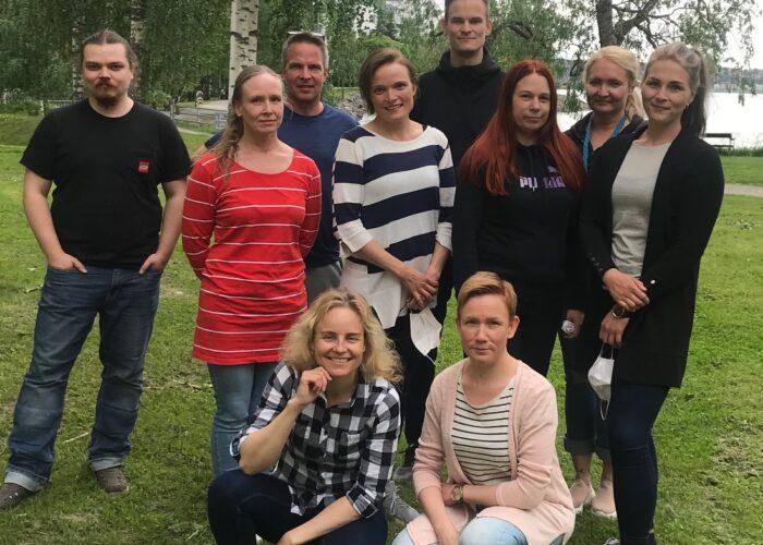 Uusia kinestetiikan tutoreita Tampereella